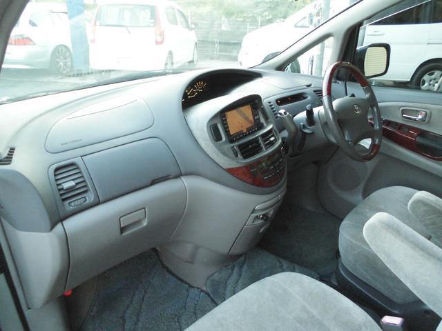 トヨタ エスティマT G タイベル交換済 コンビハンドル 8人乗 両側スライド