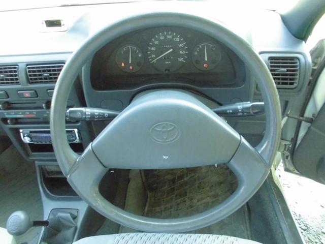 トヨタ スターレット ソレイユL 4速マニュアル 禁煙車 タイベル交換済 CD