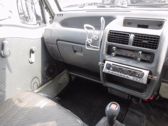 スバル サンバートラック SDX タイミングベルト交換済 4WD 5速MT CD