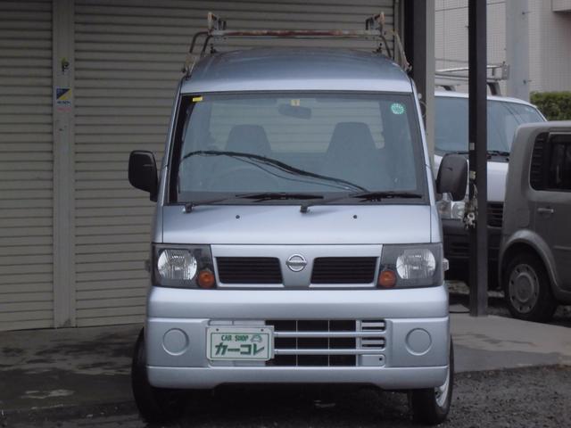 日産 クリッパーバン DX 集中ドア タイベル交換済 オートマ ルーフキャリア