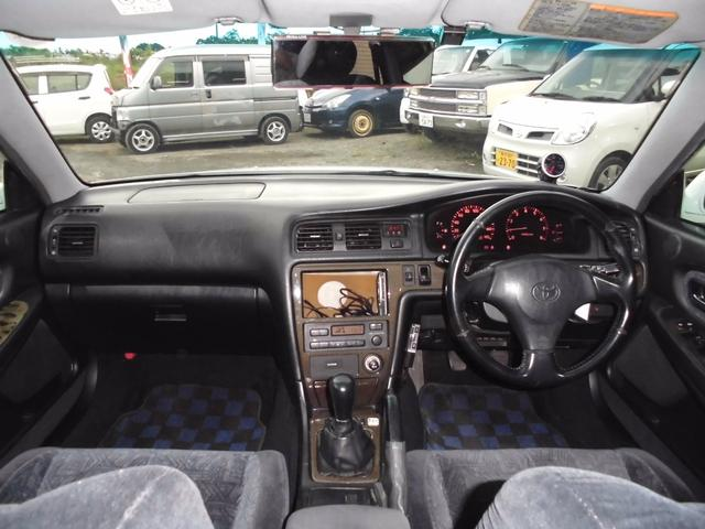 トヨタ チェイサー ツアラーV 純正5速 タイベル済み 車高調 マフラー アルミ