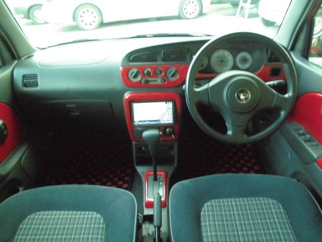 ダイハツ ミラジーノ GT-R A54赤にオールペン 禁煙車 ワンオーナー