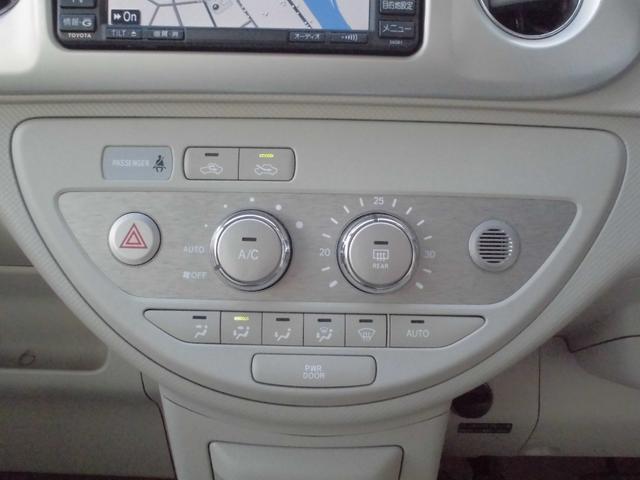 トヨタ ポルテ HDDナビ バックカメラ 電動スライドドア 記録簿