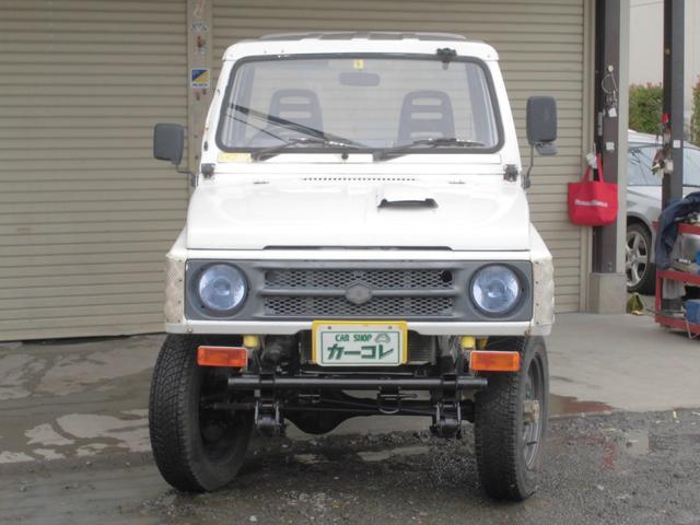 CC 5速MT 4WD リフトアップ 社外足回り(2枚目)