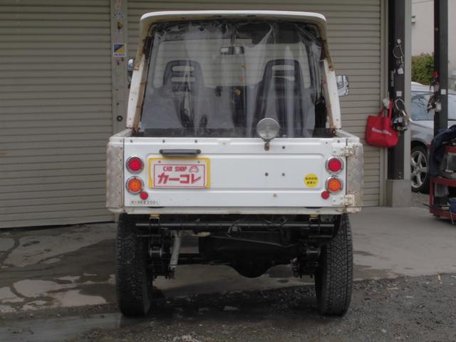 CC 5速MT 4WD リフトアップ 社外足回り(5枚目)