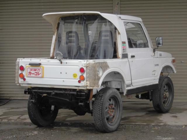 CC 5速MT 4WD リフトアップ 社外足回り(6枚目)