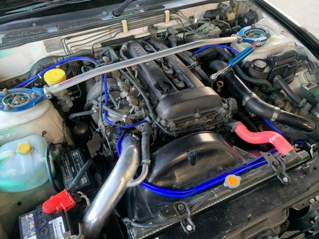 タイプX ターボ5速MTマフラー車高調エアロ前置ICエアクリ(30枚目)