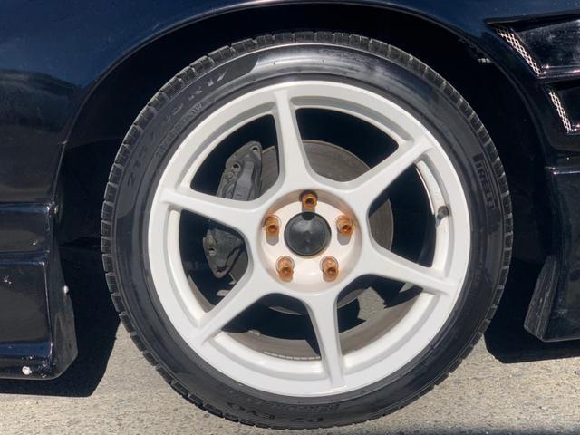 タイプX ターボ5速MTマフラー車高調エアロ前置ICエアクリ(32枚目)