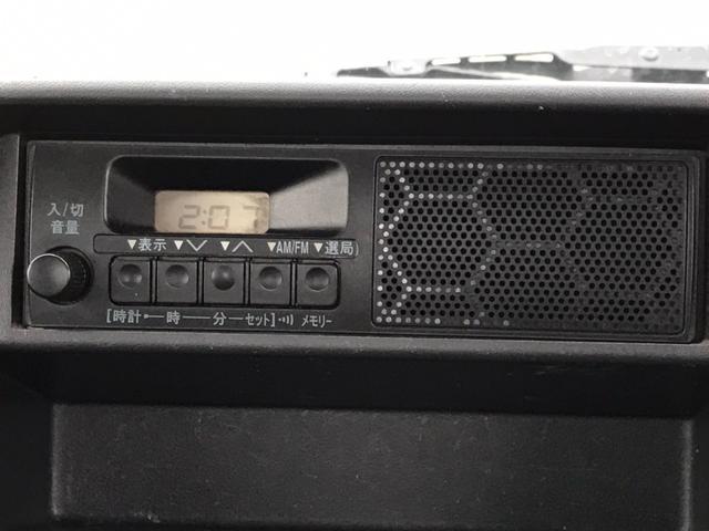3方開 平ボディ FMラジオ エアコン パワステ 運転席エアバッグ