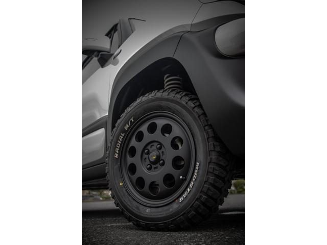 オフロードPKG 専用アルミ&タイヤ 1インチリフトアップ(3枚目)