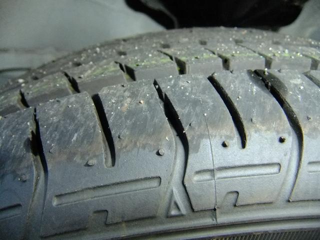 タイヤの残り溝もばっちり