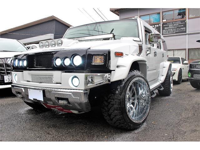 「ハマー」「ハマー H2」「SUV・クロカン」「東京都」の中古車2