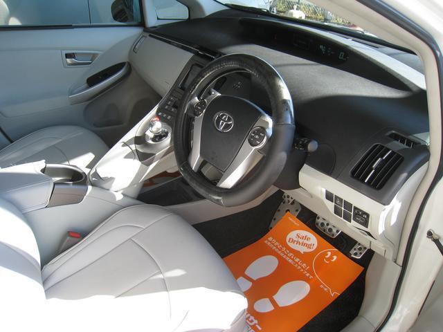 トヨタ プリウス S 純HDD地D 外エアロ テイン車高調 TWS鍛造19AW