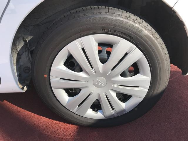 タイヤの溝もバッチリ。