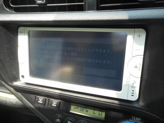 トヨタ アクア S 純正ナビ ワンセグ ドラレコ ETC