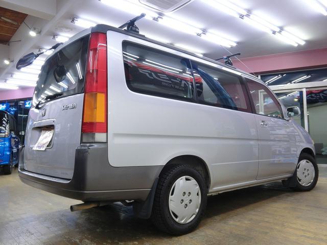 ホンダ ステップワゴン G 4ナンバー5人乗り登録 Tベル交換済み リヤエアコン