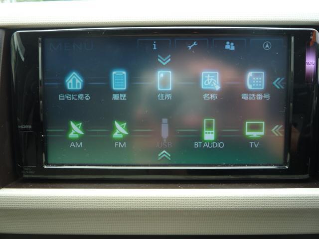 X ユルリ SDナビ Bluetoothオーディオ フルセグTV スマートキー 禁煙車(8枚目)