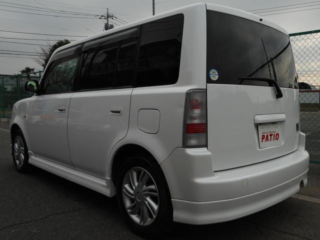トヨタ bB S Xバージョン HIDライト純正15AWフルエアロ