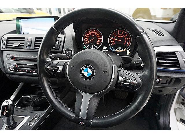 116i Mスポーツ エアロ 17アルミ&Mスポーツサス アルカンタラコンビスポーツシート 純正8.8ナビ プラスP・サーボトロニック&スマキー&ミラーETC&ライトP&ストレージP 黒内装 BMW点検済 1オーナー・禁煙(30枚目)