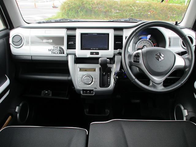 Xターボ 衝突軽減装置 SDナビ 禁煙車 ルーフレール 4WD DVD再生 CD ETC バックカメラ スマートキー Pスタート HIDライト オートライト BTオーディオ MSV USB端子 15インチアルミ(3枚目)
