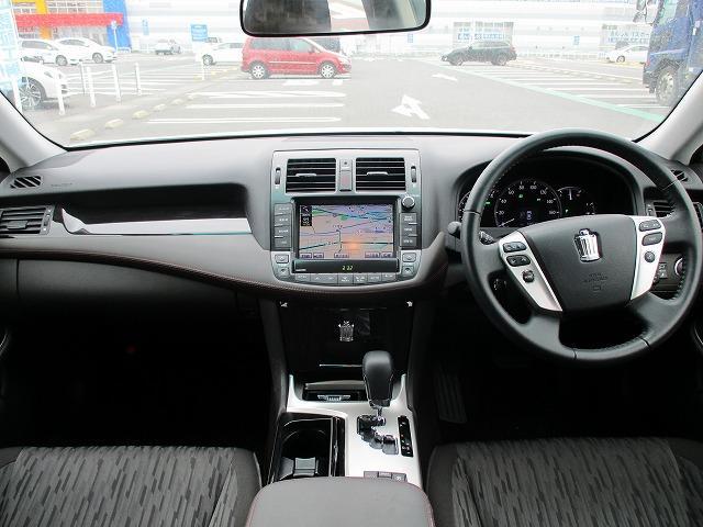 2.5アスリート 純正HDDナビ 電動シート 後期型 バックカメラ 禁煙車 1オーナー 9エアバック HIDライト フォグ オートライト フルセグTV DVD再生 CD USB端子 スマートキー Pスタート クルコン(3枚目)