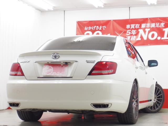 250G Sパッケージ HDDナビTV19AW車高調マフラ-(2枚目)