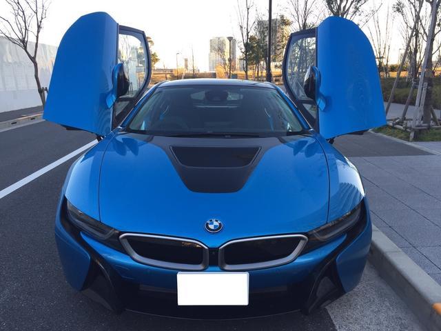 BMW BMW i8 クーペ 右ハンドルデーラー車 ガレージ保管 ワンオーナ