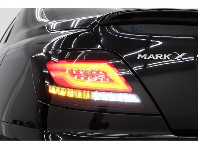 トヨタ マークX 250G Sパケ黒革地デジNewフルエアロ ファイバーテール