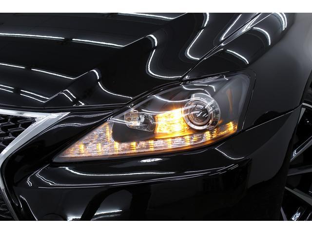 レクサス IS 350VerL黒革 スピンドルエアロ 現行風ファイバーテール