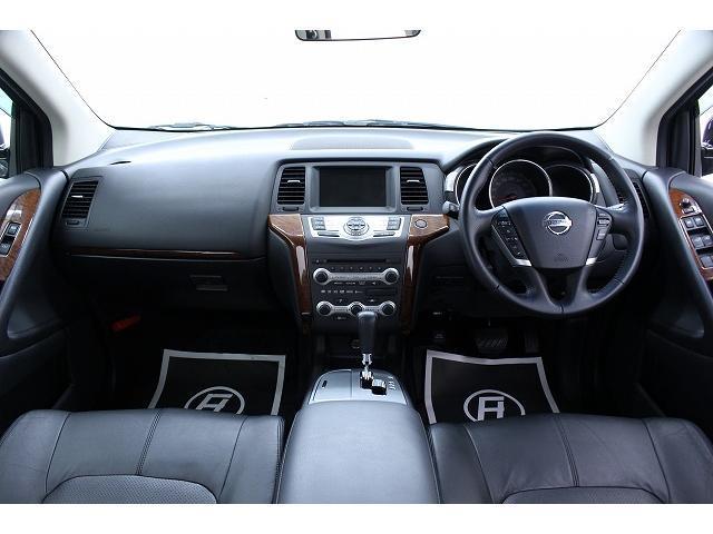 日産 ムラーノ 350XV黒革SR地デジ インフィニ仕様エンブレム新品車高調