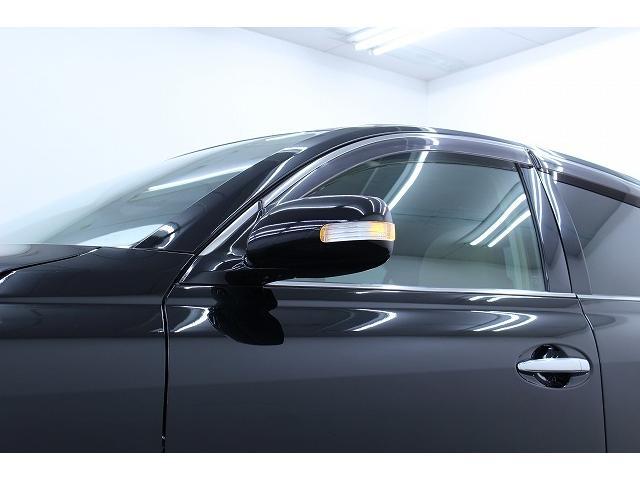 トヨタ マークX 250G後期 新品フルエアロ3連イカリング ファイバーテール