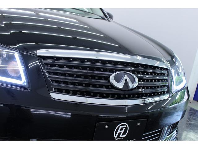 日産 フーガ 350XV本革 W連動ファイバーブルーアイ 新品フルエアロ
