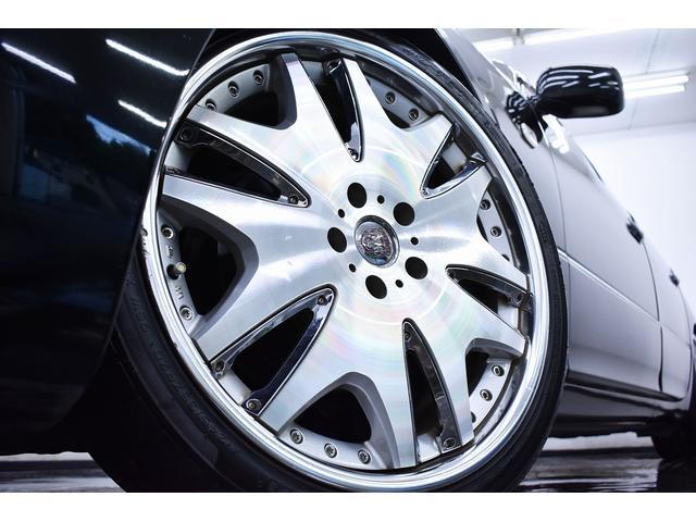 eR仕様 後期モデル・黒革・サンルーフ・LOWSTYLE・20inクラブリネアL566アルミホイール・メッキピラー・クルコン・メモリーパワーシート・シートヒーター純正ナビ・バックモニター(14枚目)