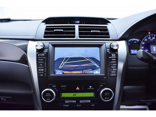 カラーガイドライン付バックモニター搭載の為、駐車時も安心ですね。