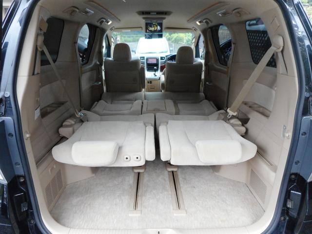 ☆セカンドシート、サードシートを寝かせれば車中泊もできちゃいます♪☆