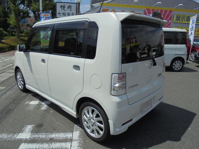 ダイハツ ムーヴコンテ カスタム RS ナビ momoステアリング 買取車