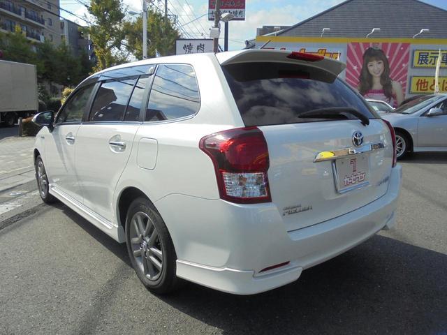 トヨタ カローラフィールダー ハイブリッドG エアロツアラーW×B 1オーナー 買取車