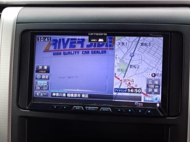トヨタ ヴェルファイア 2.4Z 後期型スカウターHDDナビBカメラETC両側電動