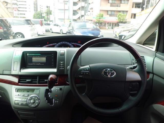 トヨタ エスティマ 2.4アエラス Gエディション ワンオーナー メモリーナビ