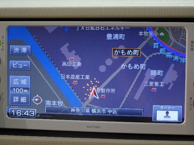 Xユルリ ワンオーナー メモリーナビ ベンチシート ETC(5枚目)