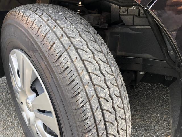 タイヤもまだ新しく、状態は良好です。