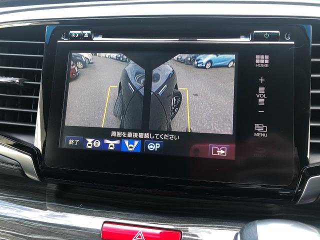 ハイブリッドアブソルート・ホンダセンシングEXパック 1年保証 1オーナー 禁煙車 黒革シート 両側電動スライド 全周囲モニター メーカーナビ 天井モニター カーテンSRS ソナー シートヒーター ドラレコ フルセグ USB HDMI ブルートゥース(15枚目)