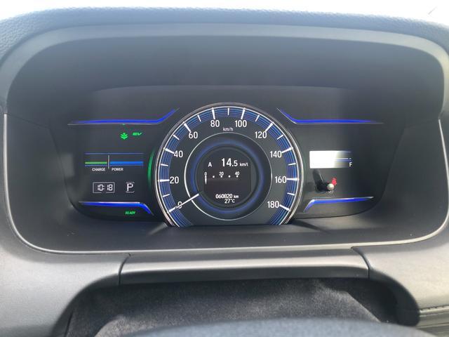 ハイブリッドアブソルート・ホンダセンシングEXパック 1年保証 1オーナー 禁煙車 黒革シート 両側電動スライド 全周囲モニター メーカーナビ 天井モニター カーテンSRS ソナー シートヒーター ドラレコ フルセグ USB HDMI ブルートゥース(17枚目)