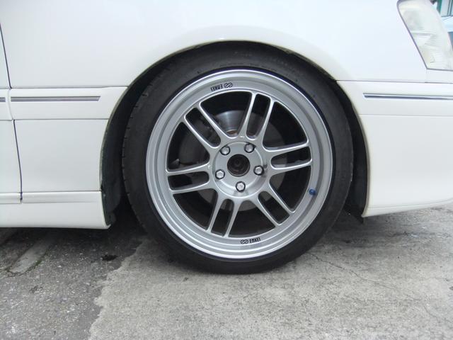 トヨタ クラウン アスリートV 公認5MT R154 インタークーラー 車高調