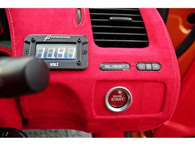 タイプR ACCエアサス公認済 ワンオフF S Rエアロ ワンオフF・Rフェンダー ワンオフウイング 社外ヘッドライト 社外テールランプ 社外ボンネット ワーク19インチアルミ 内装張替 カスタムオーディオ(29枚目)