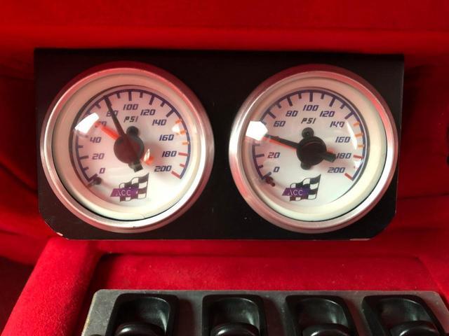 タイプR ACCエアサス公認済 ワンオフF S Rエアロ ワンオフF・Rフェンダー ワンオフウイング 社外ヘッドライト 社外テールランプ 社外ボンネット ワーク19インチアルミ 内装張替 カスタムオーディオ(32枚目)