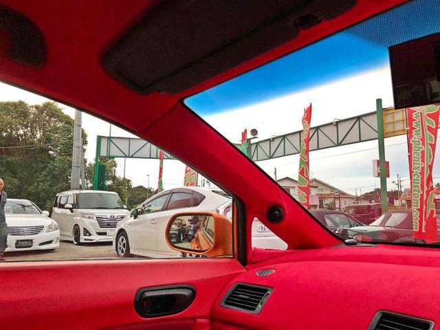 タイプR ACCエアサス公認済 ワンオフF S Rエアロ ワンオフF・Rフェンダー ワンオフウイング 社外ヘッドライト 社外テールランプ 社外ボンネット ワーク19インチアルミ 内装張替 カスタムオーディオ(41枚目)