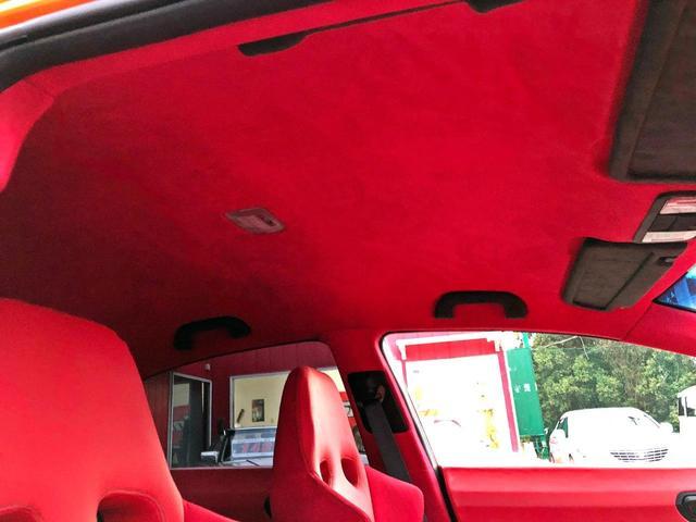 タイプR ACCエアサス公認済 ワンオフF S Rエアロ ワンオフF・Rフェンダー ワンオフウイング 社外ヘッドライト 社外テールランプ 社外ボンネット ワーク19インチアルミ 内装張替 カスタムオーディオ(47枚目)