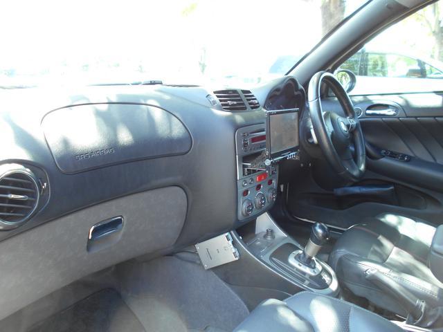 アルファロメオ アルファ147 TI 2.0 ツインスパーク セレスピード  黒革 社外ナビ