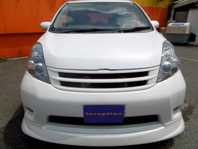 トヨタ アイシス プラタナリミテッド モデリスタエアロ マフラー 社外18